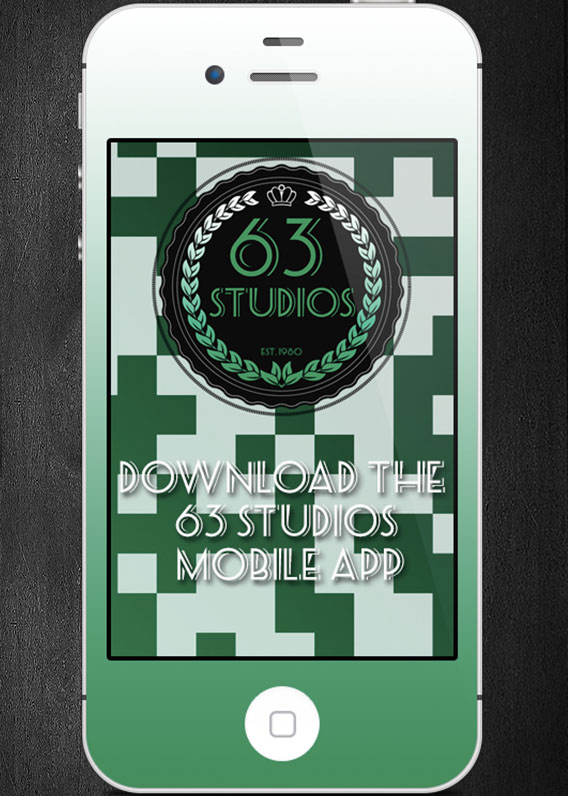 Download the 63 Studios App